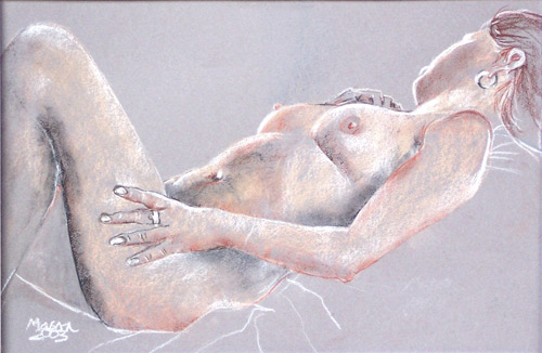 Susanne Mason, lifedrawing