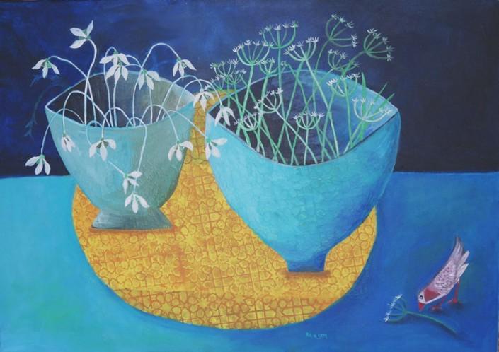 promise (acrylics on canvas 70 x 50cm)