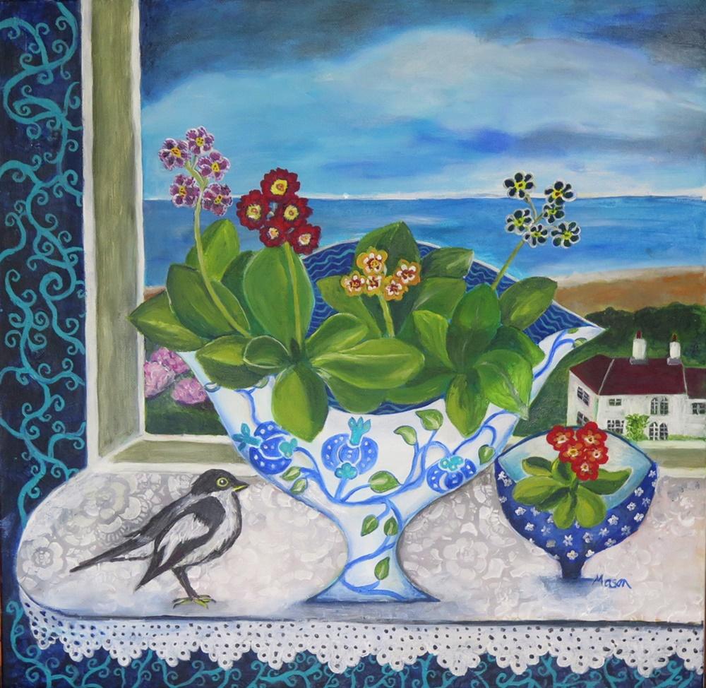 Susanne Mason, little beauties (acrylics on canvas 50x50cm)