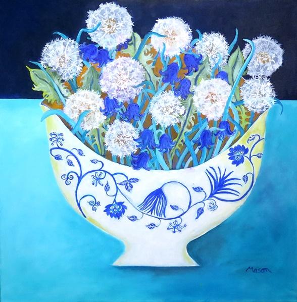 secret meadow (acrylics on canvas 50 x 50cm)
