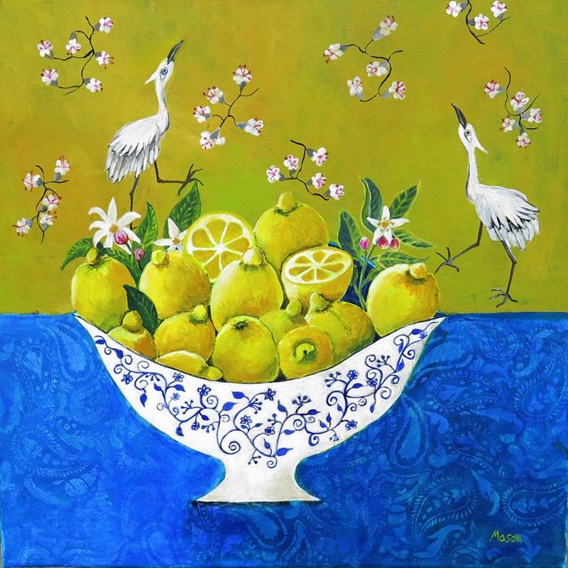 Citrus Breeze, still life by Susanne Mason